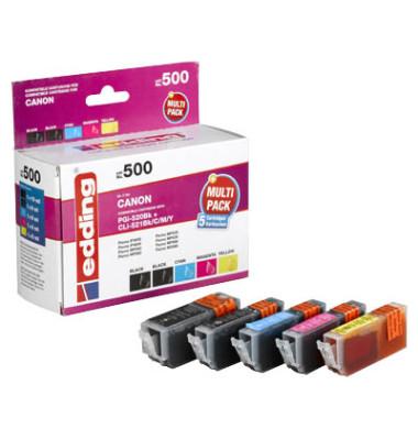 Druckerpatrone PGI-520/CLI-521 4-farbig