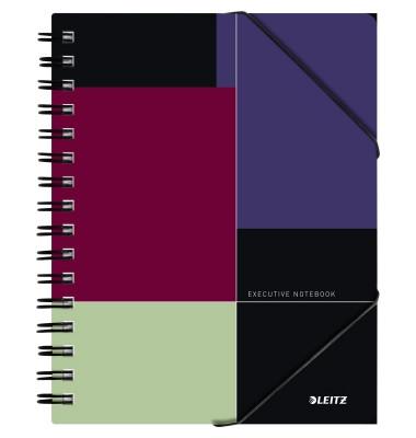 Collegeblock Executive BeMobile Notebook 4450-00-00, A5 kariert, 90g 80 Blatt, 4-fach-Lochung