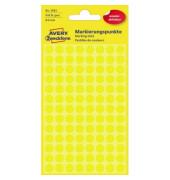 3593 f.Handbeschr. Markierungspunkte D8mm gelb