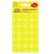 Markierungspunkte 3598 gelb Ø 18mm 96 Stück wiederablösbar