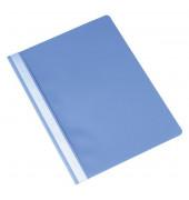 Schnellhefter A4 hellblau PP Kunststoff kaufmännische Heftung bis 250 Blatt
