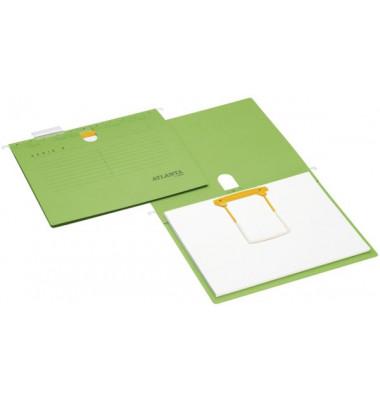 Hängehefter Serie E A4 230g Karton grün Schlauchheftung