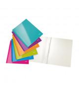 Schnellhefter WOW A4 farbig sortiert 300g Karton kaufmännische Heftung / Amtsheftung