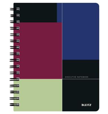 Collegeblock Executive Notebook 4457-00-00, A5 liniert, 90g 80 Blatt, 2-fach-Lochung