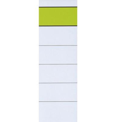 11358736  neutral Rückenschild 10St. breit kurz weiß
