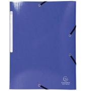 Eckspannmappe 55832E Iderama A4 425g blau