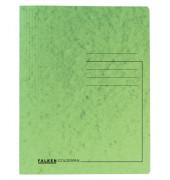 Schnellhefter Colorspan 1128 A4 intensiv hellgrün 355g Karton kaufmännische Heftung / Amtsheftung bis 250 Blatt