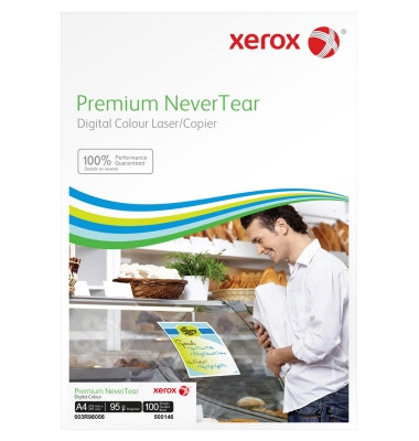 Premium NeverTear A4 125g Premium NeverTear 100 Blatt hochweiß