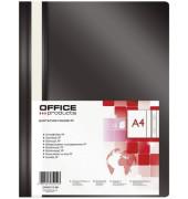 Schnellhefter  21101111 A4 schwarz PP Kunststoff kaufmännische Heftung bis 200 Blatt
