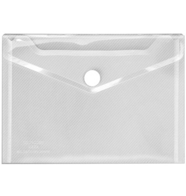 Dokumententasche Crystal A6 farblos/transparent