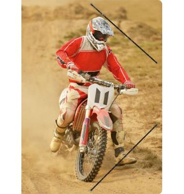 4624 24x33cm Zeichenmappe A4 Motocross