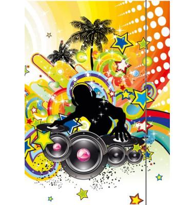 4537 Zeichenmappe A3 Music