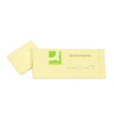 klein - gelb - 40 x 50 mm Haftnotizen