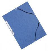 Eckspannmappe A4 375g blau