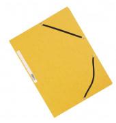 Eckspannmappe A4 375g gelb