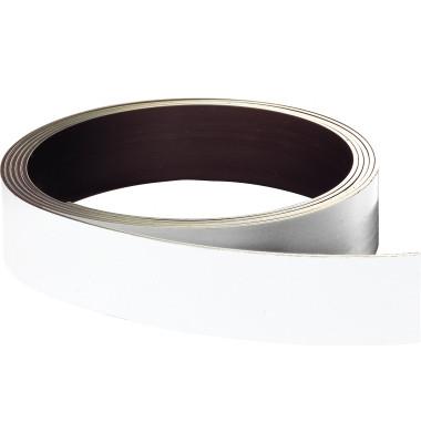 Lagerschilder magnetisch weiß 10mmx10m