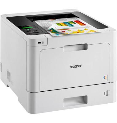 Brother Farblaserdrucker HL-L8260CDW inkl. UHG, 4 separate Toner