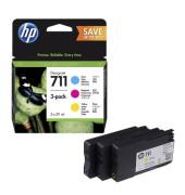 Druckerpatrone 711 farbig C/M/Y für Designjet T120 ePrinter,