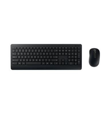 Maus-Tastatur-Set Wireless Desktop 900 USB Funk schwarz