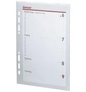 Ersatzkalender Manager 1Woche/2Seiten weiß A5 2020