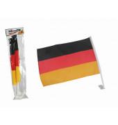00/0800 45x30cm 2St. Autoflagge Deutschland