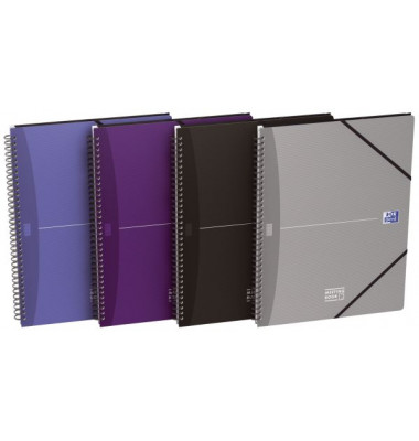 100102031 Collegblock Meetingbook A4+ 90Bl kar.