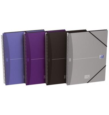 Collegeblock Meetingbook 100102031, A4+ kariert, 90g 90 Blatt, 4-fach-Lochung
