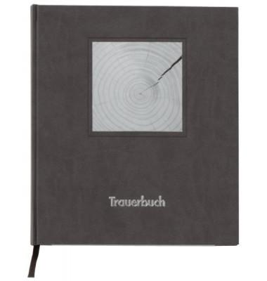 510090 21x24cm Kondolenzbuch 90g schwarz