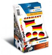 3389 Tattoo Deutschland-Fahnen