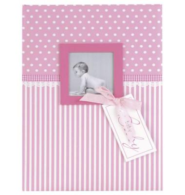 11801 21x28cm Babytagebuch Sweatheart rosa