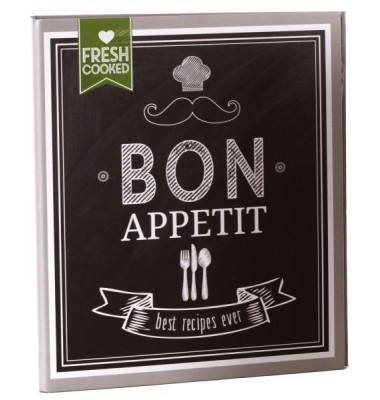 69036 21x22,5cm Kochrezeptordner Bon Appetit