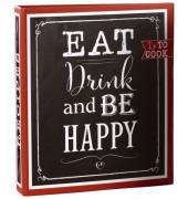 69038 21x22,5cm Motivordner Eat,drink&be happy