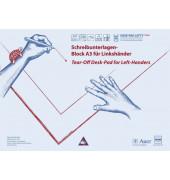 Schreibunterlage Linkshänder 20Bl Papier A3 9060219