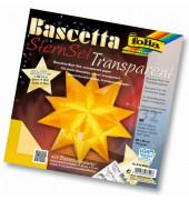 814/2020 20x20cm Bastelset Bascetta Stern gelb
