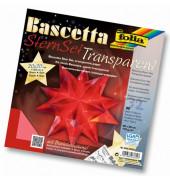 820/2020 20x20cm Bastelset Bascetta Stern rot