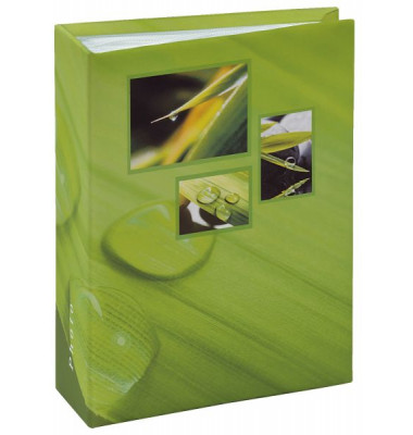 106261 f.10x15cm Einsteckalbum Singo grün