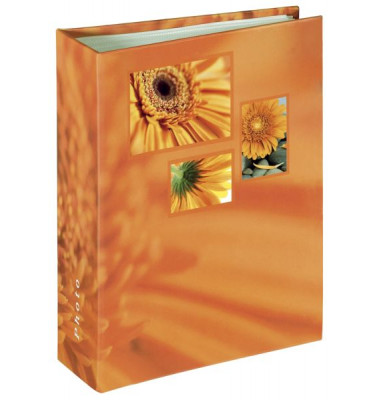 106260 f.10x15cm Einsteckalbum Singo orange