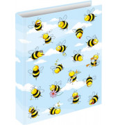 46494 Schulordner A4/2Ring Crazy Bees