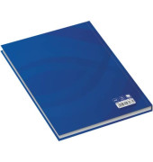 46486 96Bl liniert Notizbuch A5 Business blau