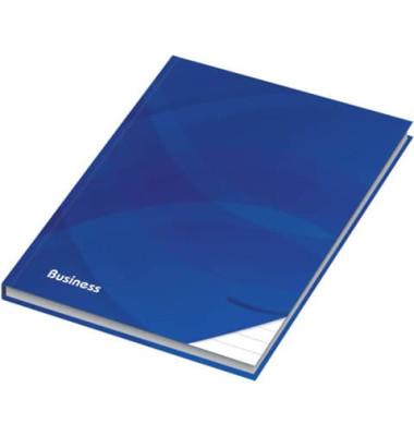 46500 96Bl liniert Notizbuch A4 Business blau