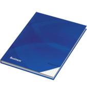 46499 96Bl kariert Notizbuch A4 Business blau