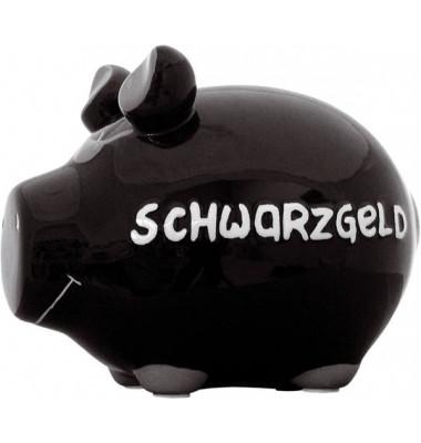 100060 Schwarzgeld Spardose Schwein klein