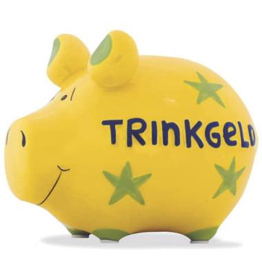 100031 Trinkgeld Spardose Schwein klein