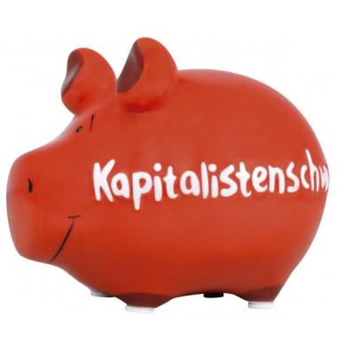 100566 Kapitalistenschwein Spardose Schwein klein