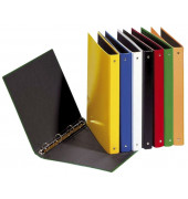 20405-04 Ringbuch A5 4Ring Pappe gelb
