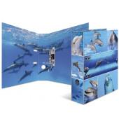 7167 Motivordner Tiere A4 Delfine