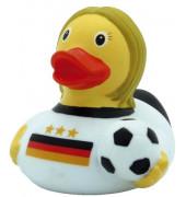 LILALU 1816  8.5cm Badeente Fußballerin