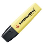 Textmarker Boss Original pastell gelb 2-5mm Keilspitze