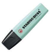 Textmarker Boss Original pastell türkis 2-5mm Keilspitze