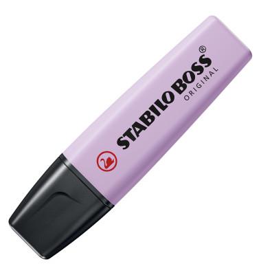 Textmarker Boss Original pastell lila 2-5mm Keilspitze